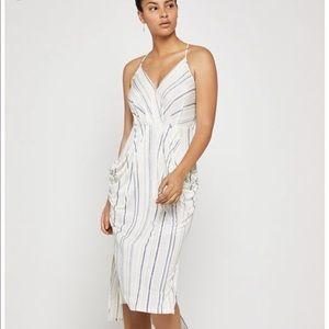 BCBGeneration Draped Midi Dress